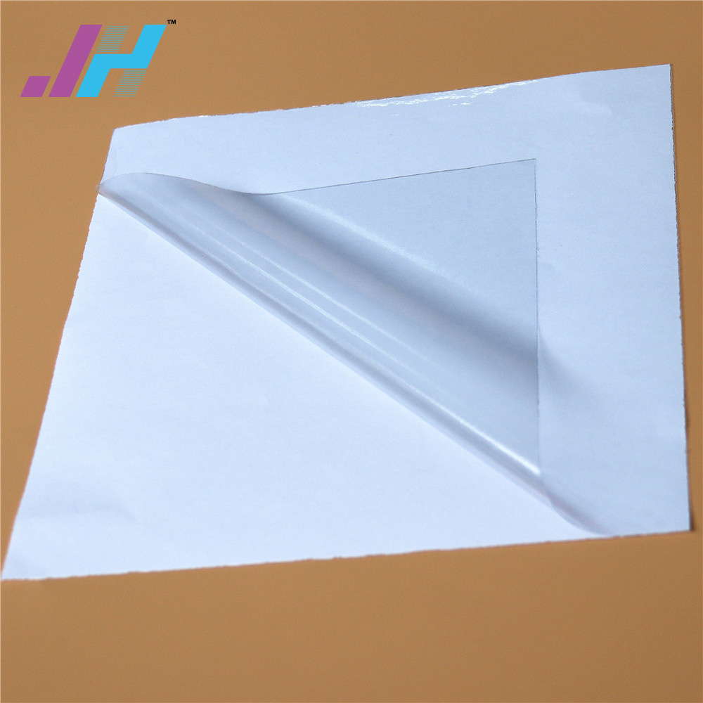 Glossy Transparent Film Self Adhesive Vinyl 120g