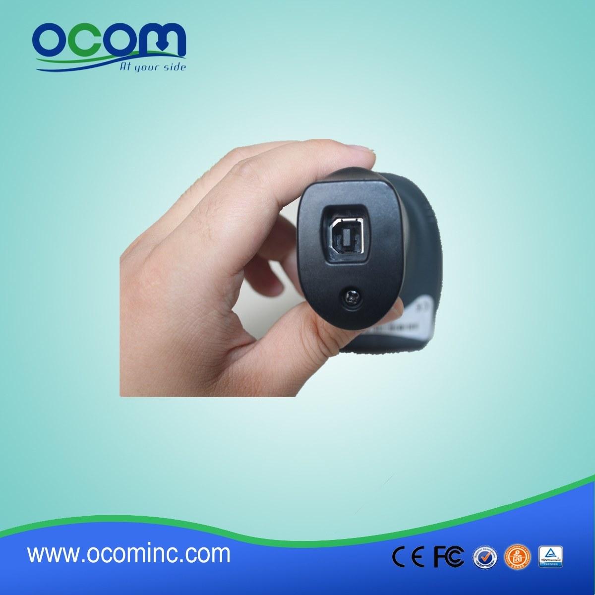 Ocbs-W010 2.4G Hz Wireless Laser Barcode Scanner with Optional Wired Mode