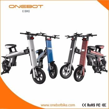 2017 250W Brushless Motor E Scooter Electric Folding Bike