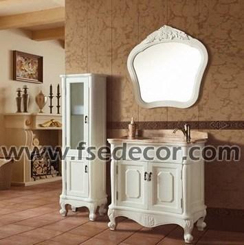 Gabinete de cuarto de ba o europeo antiguo blanco del for Banos estilo antiguo