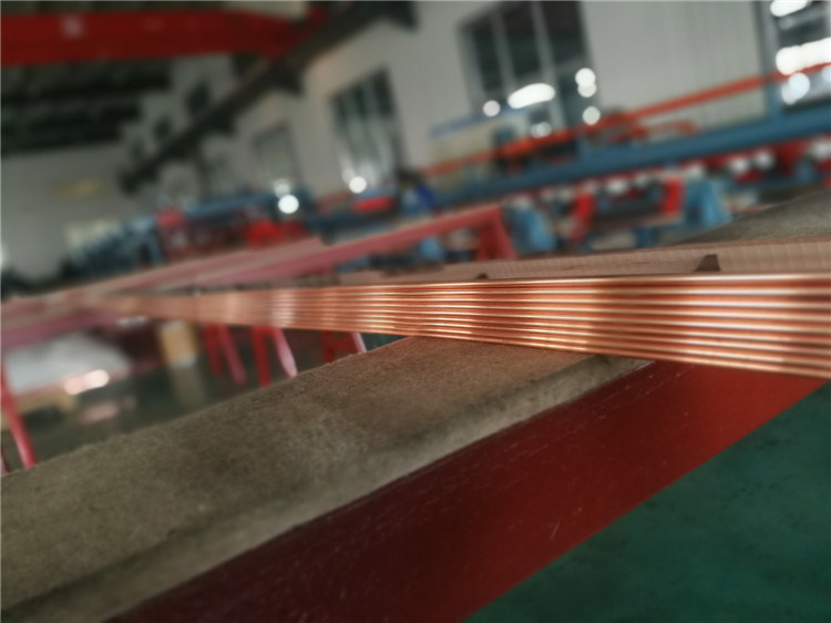 Copper Busbar for Electric Cabinet, Motor Connector and Transformers 1.6*6mm