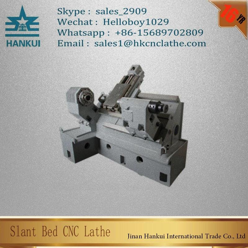Ck63L Taiwan Turret CNC Slant Bed Auto Lathe Machine Tool