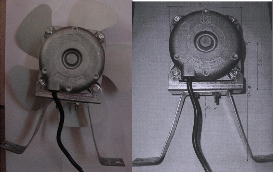 GE Refrigerator Evaporator Fan Motor also Small DC Water Pump furthermore Electric Fan Heater also Vintage Yamaha Snowmobile Parts as well Peugeot 306 Break. on gs electric fan motor replacement