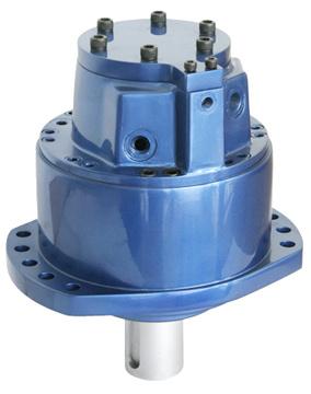 Msef seriesincurve multicam radial piston low speed high Radial piston hydraulic motor