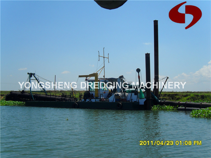 Iron Sand Dredging Vessel with Magnetic Separator (CSD 150)