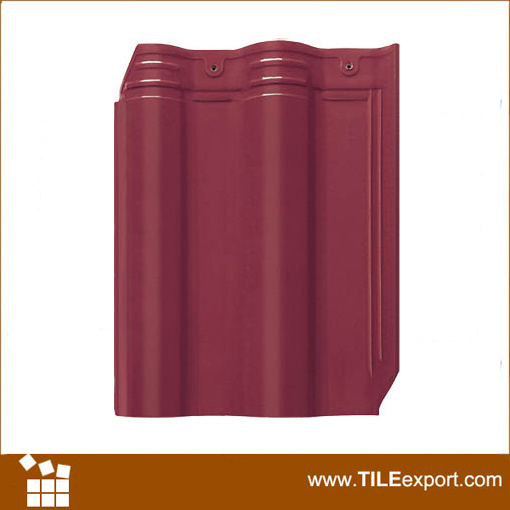 Hot Sale Villa Interlocking Glazed Terracotta Ceramic Roof Tile
