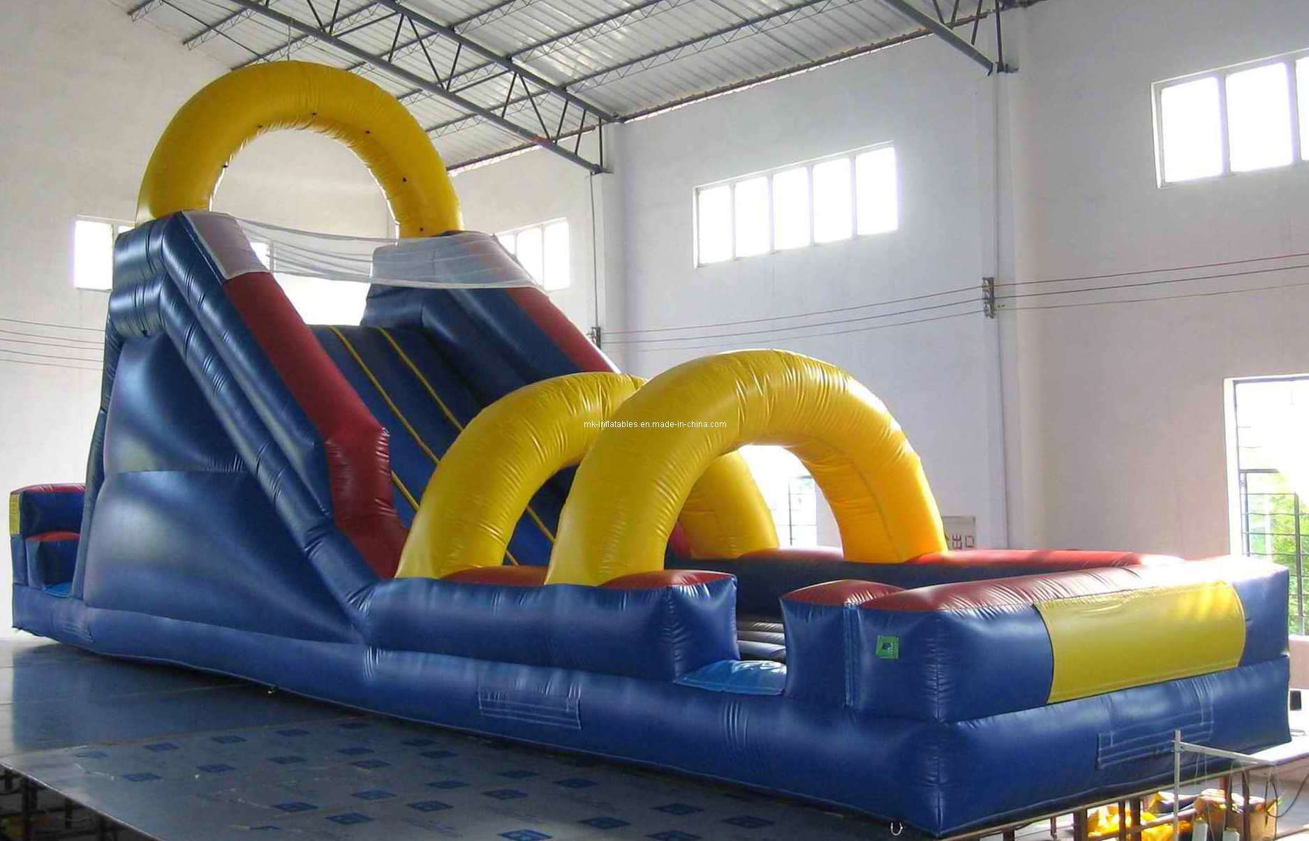backyard flume slide ws0007 china inflatable water slide water
