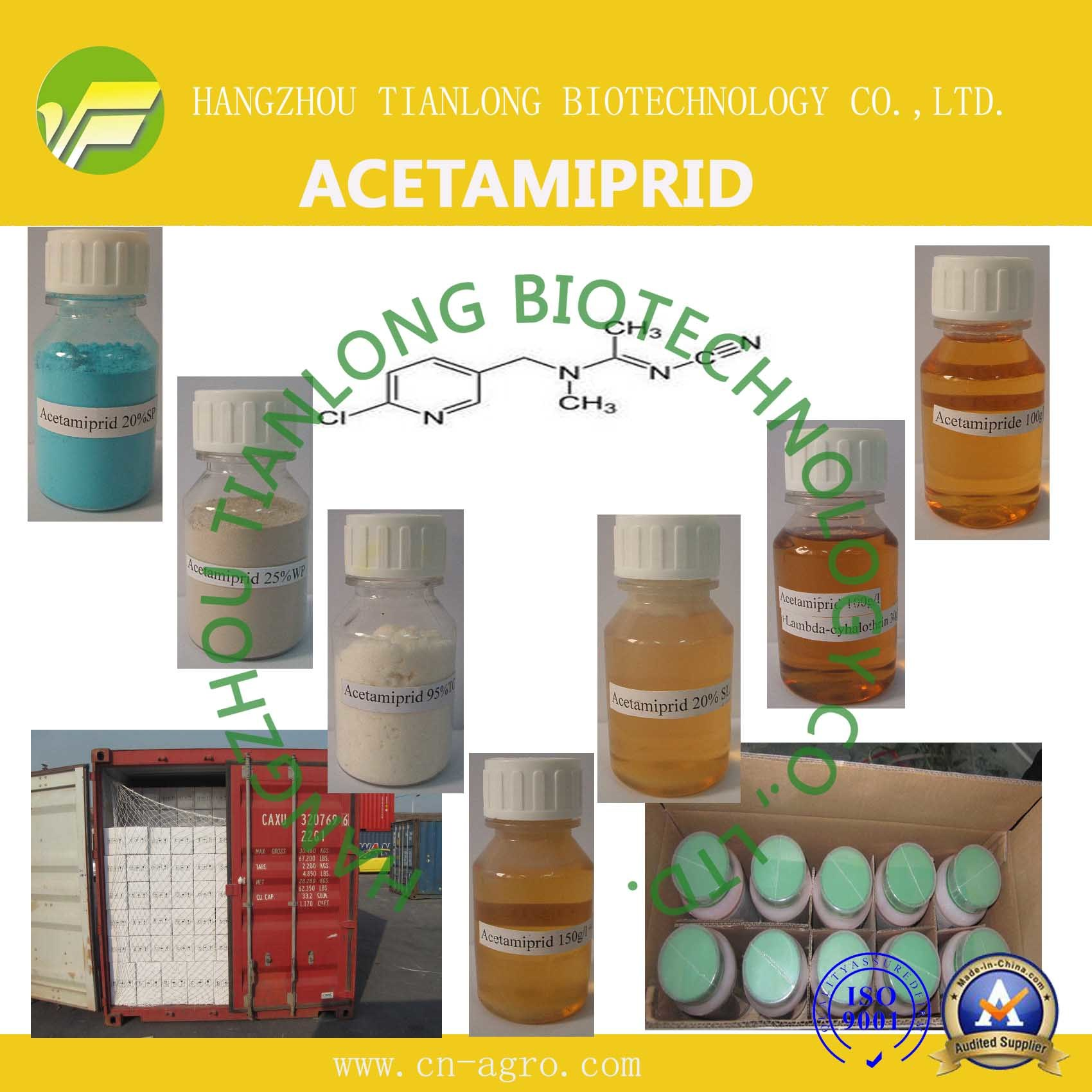 Acetamiprid (95%TC, 20% WP, 20%SP, 20%SL, 70%WDG) (135410-20-7)