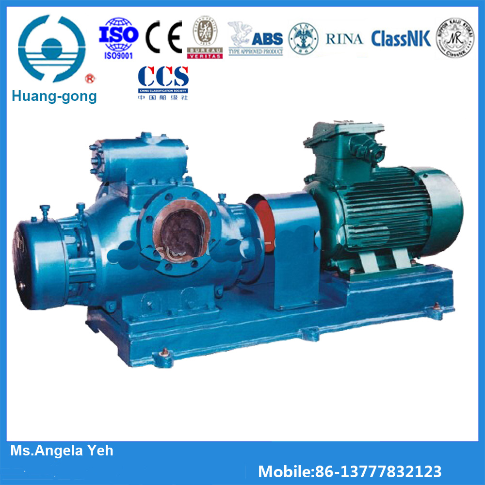 Twin Screw Heavy Fuel Oil Pumps with Classification Society Certificate