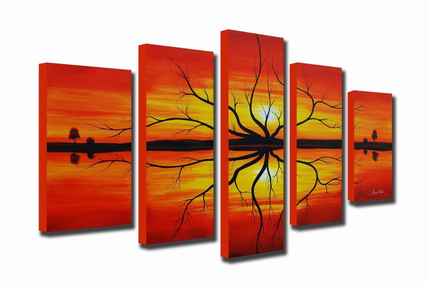 Wall decal on canvas high def pics
