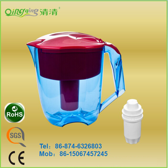 2016 Top Seller Safety Water Filter Jug with New Design