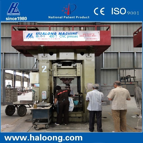 1200 Ton Enery Saving 60% CNC Grade Brick Forming Press Machine