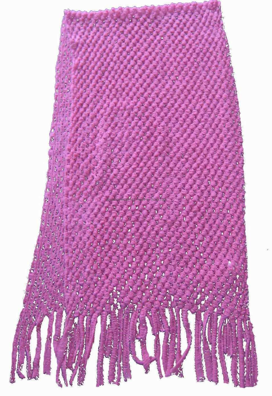 Шарф вязания крючком женщин теплый (KX-A24