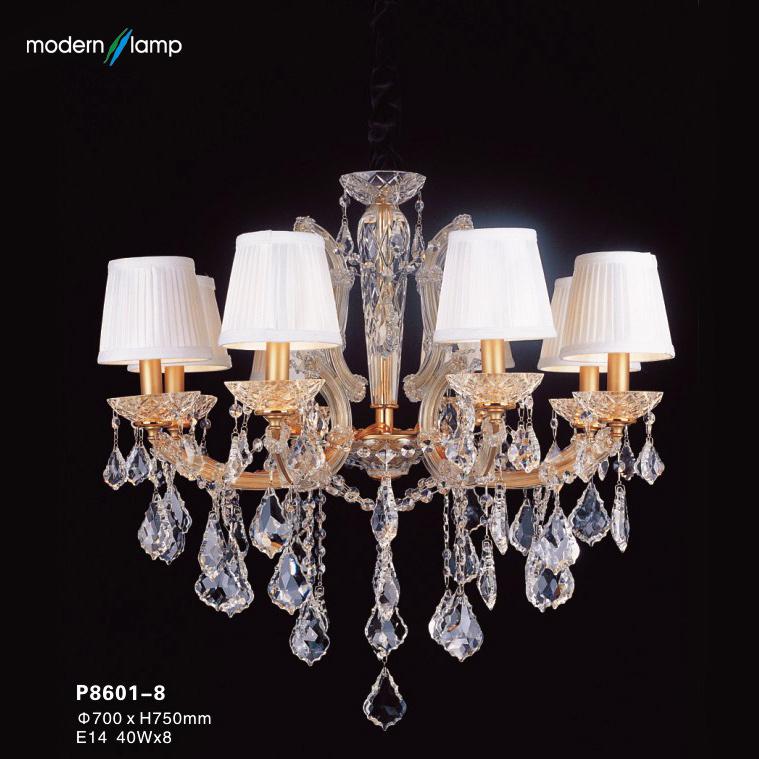 China Noble Design Crystal Chandelier Light (P8601-8 ...