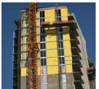 Fiberglass with PU Coating Finish for Exterior Wall