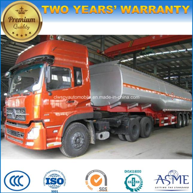 3 Axles Heavy Duty Fuel Tanker 35 Cbm 40 Cbm 45 Cbm 50 Cbm 55cbm Tank Trailer