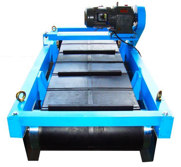 Permanent Magnetic Separator with Feed Belt