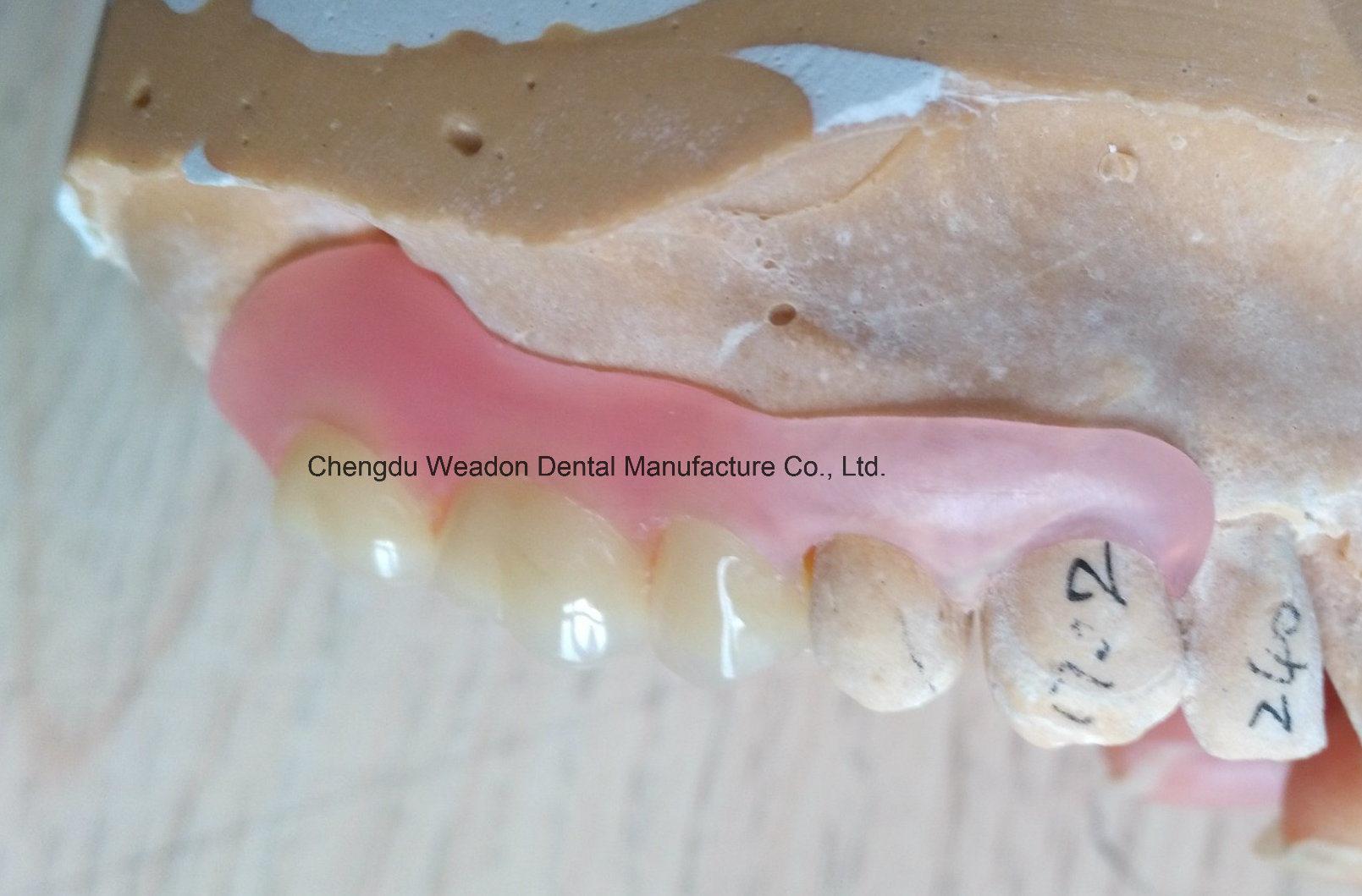 Valplast Denture for Clinic From Chinese Dental Center