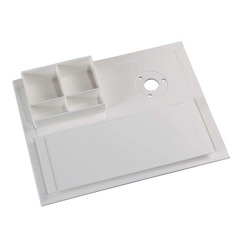 Hotel Promotion Anti-Slip Melamine Hospitality Welcome Trays for Sale