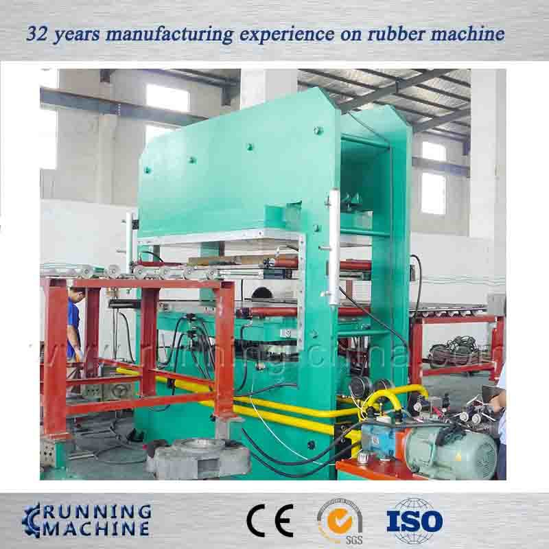 Large Plate Vulcanizing Rubber Press Machine Made in China