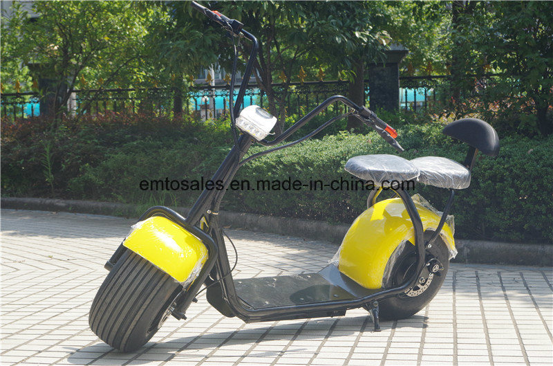 City Coco/2 Wheel Electric Scooter 2000W /1500W/1000W Ce/FCC/UL/Un38.8/RoHS