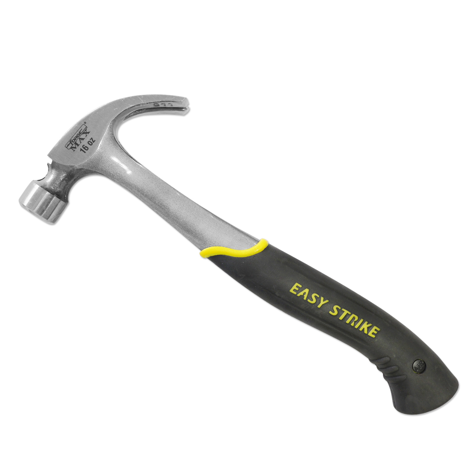 16oz Forged One-Piece Nail Hammer Claw Hammer with Magnetic Nail Holder