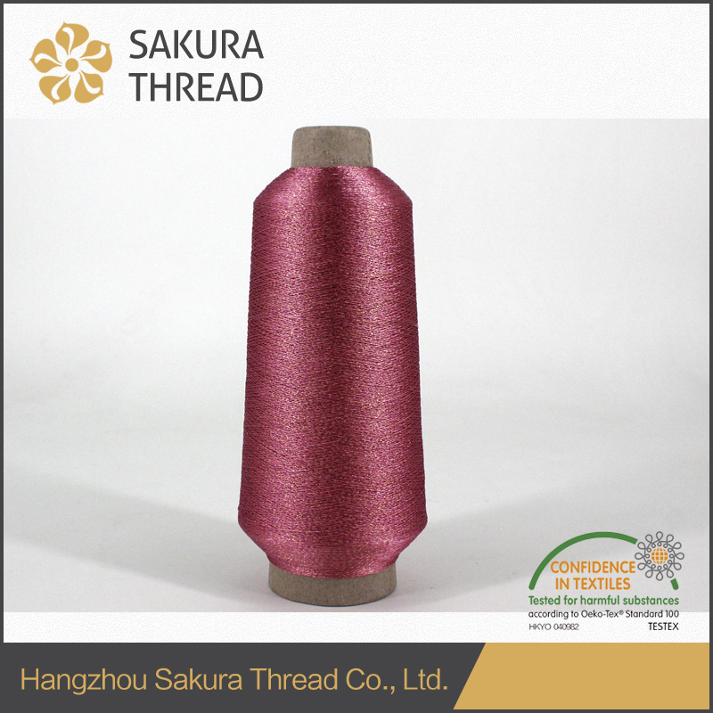 Sakura Mx Type Polyester Metallic Thread for Trademark Embroidery