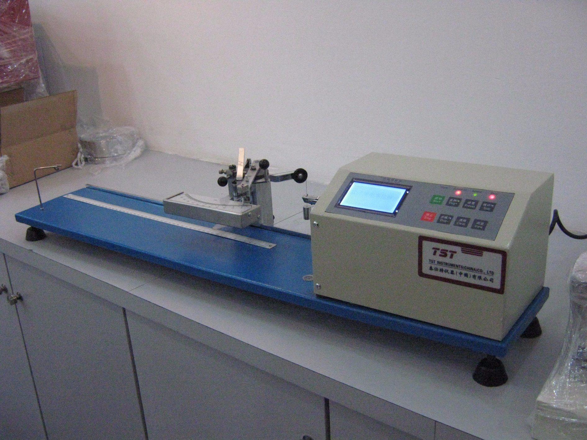 Semiautomatic Electronic Yarn Twist Tester
