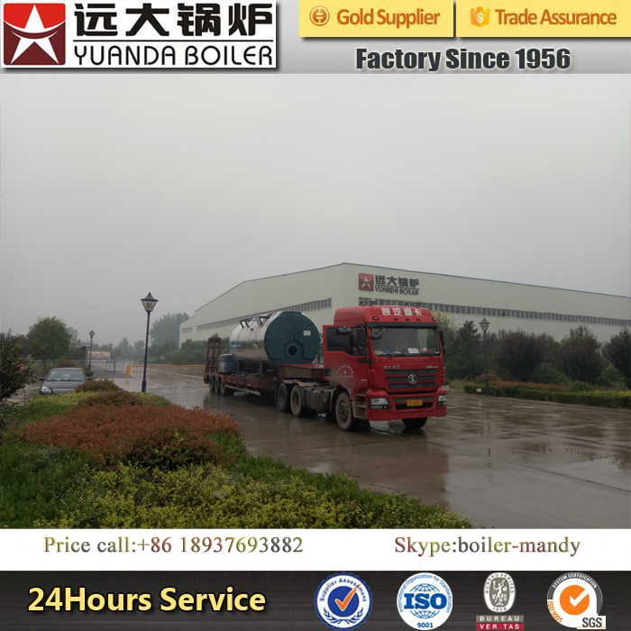 Factory Price Low Pressure Fire Tube Trade Assurance 6ton Gas Steam Boiler