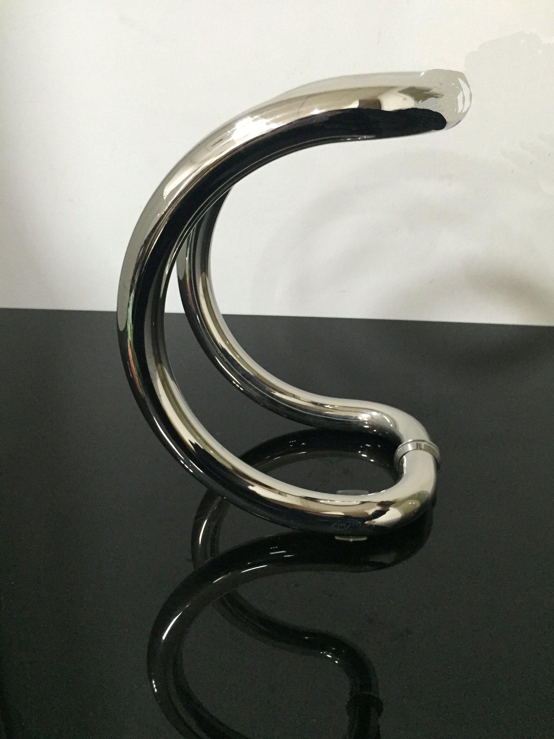 C Style Stainless Steel Handle Glass Door Hinges