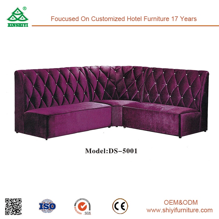 Customized Leather Living Room Corner Combination Sofa