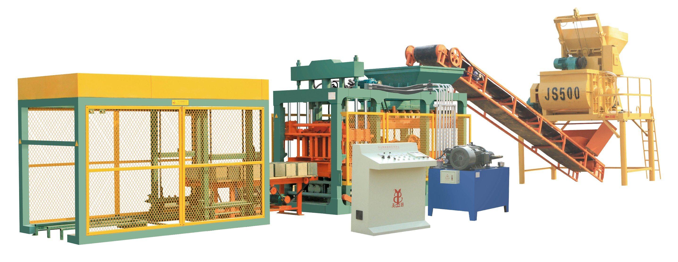 Block Making Machine (QTJ4-40) /Brick Making Machine