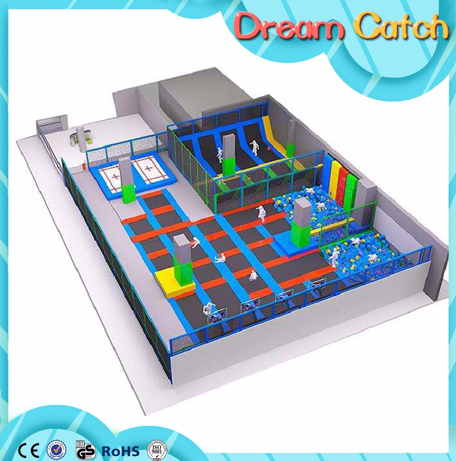 Children Games Room Indoor Trampoline