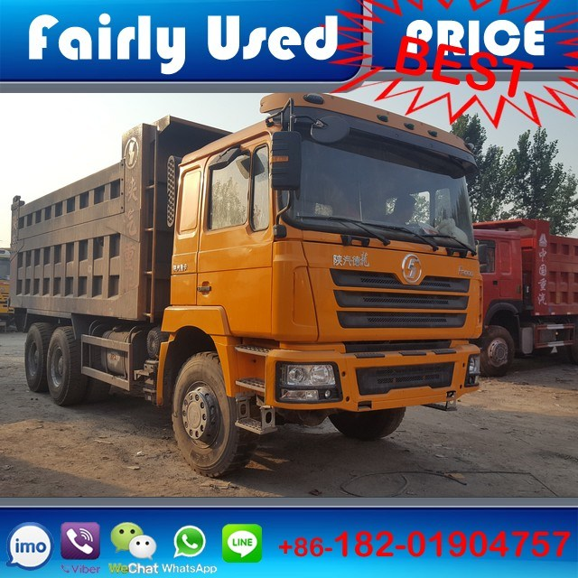 Low Price Shacman F3000 6X4 Used Dump Truck for Sale