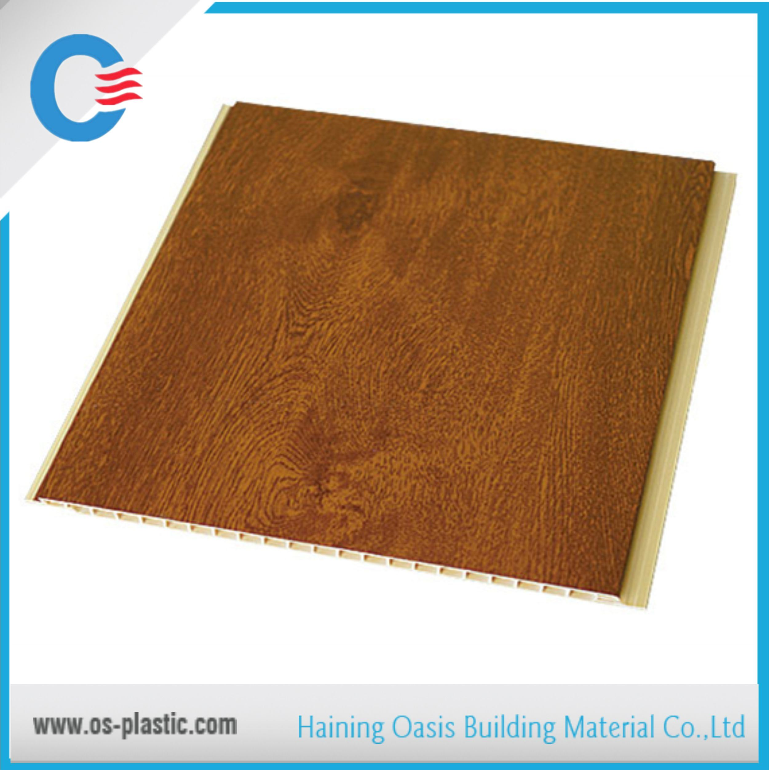 PVC Laminated Wall Panel PVC Ceiling Panels Interior Decorative Board