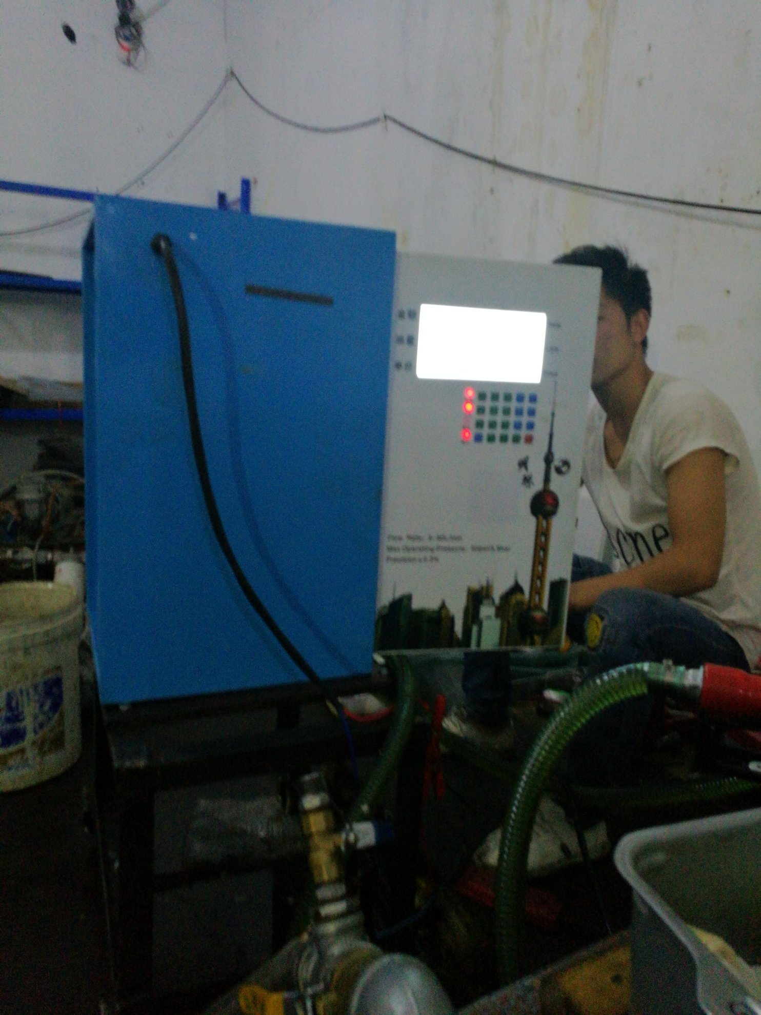 Ticket Printing Small Size Diesel Pump Diesel Fuel Dispenser