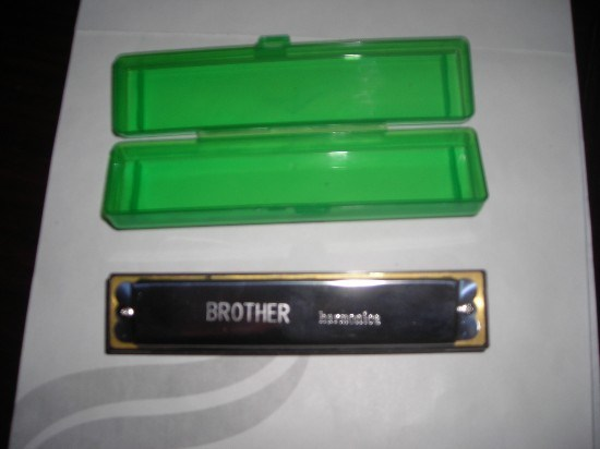 10 Holes Harmonica with Plastic Cover
