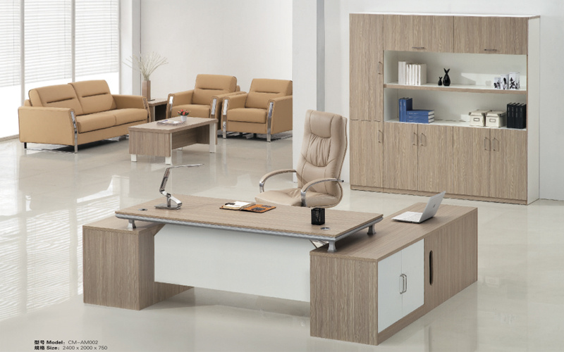 Modern Luxury Chinese Furniture Wooden Executive Office Desk