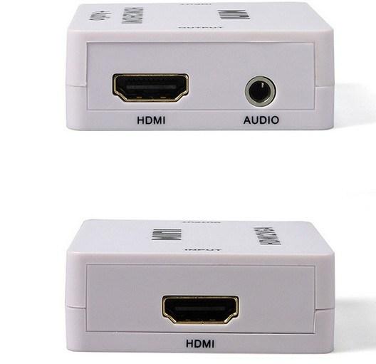 HDMI to HDMI+Audio Video Converter Decoder