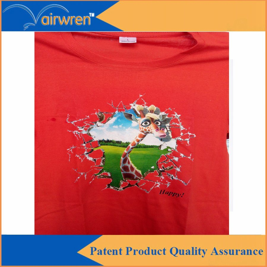 Desktop T-Shirt Printing Machine Digital DTG Textile Printer with A4 Size