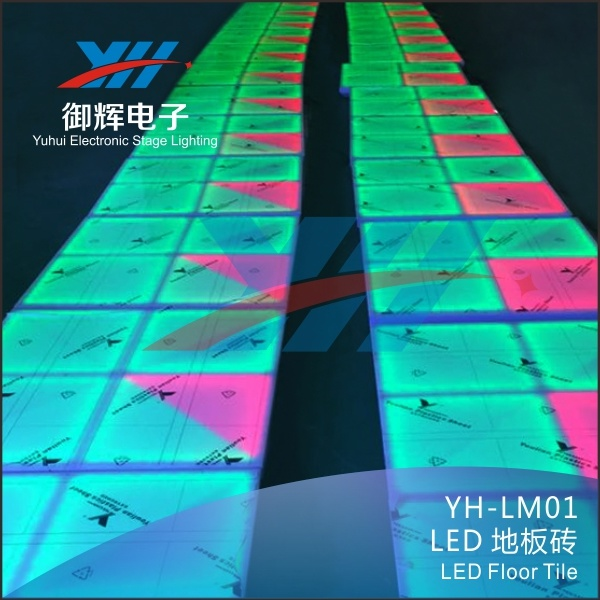 27CH LED Dancing Floor Tiles for Stage and Wedding Party