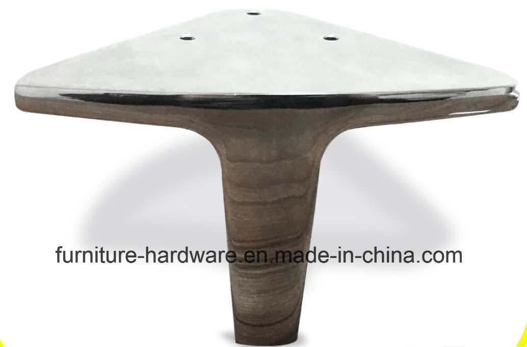 Replacement Furniture Parts Metal Polished Chrome Legs for Sofa Footstool