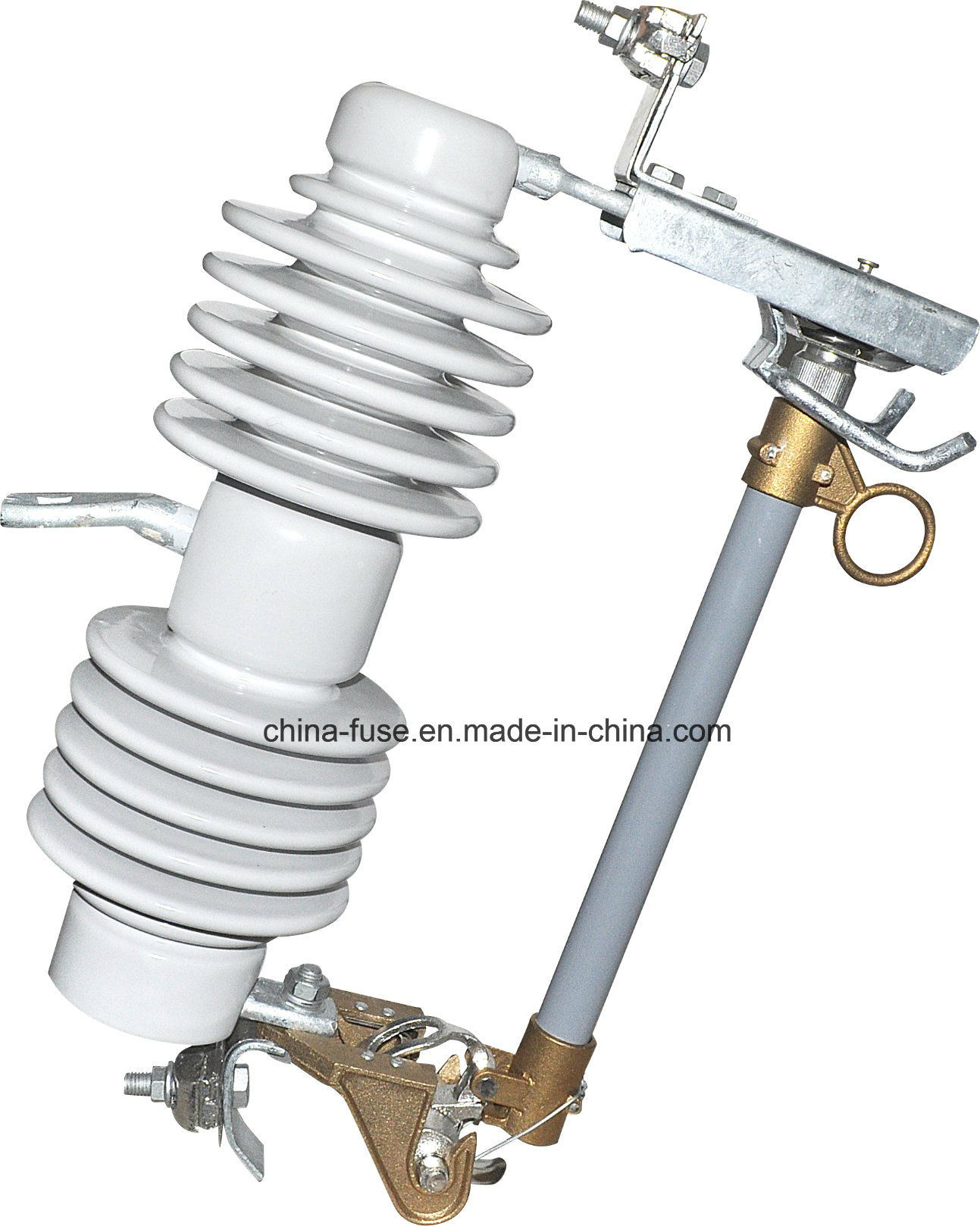 High Voltage Porcelain Fuse Cutout, Drop out Fuse 24kv 100A