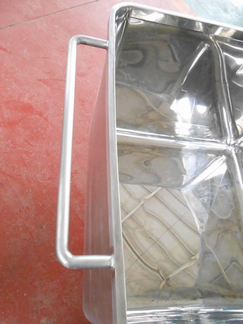 Vegetable Skip / Charging Car SUS 304 Stainless Steel
