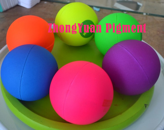 Zy 901, 902, 903 Fluorescence Red /Yellow /Green (for PU products)