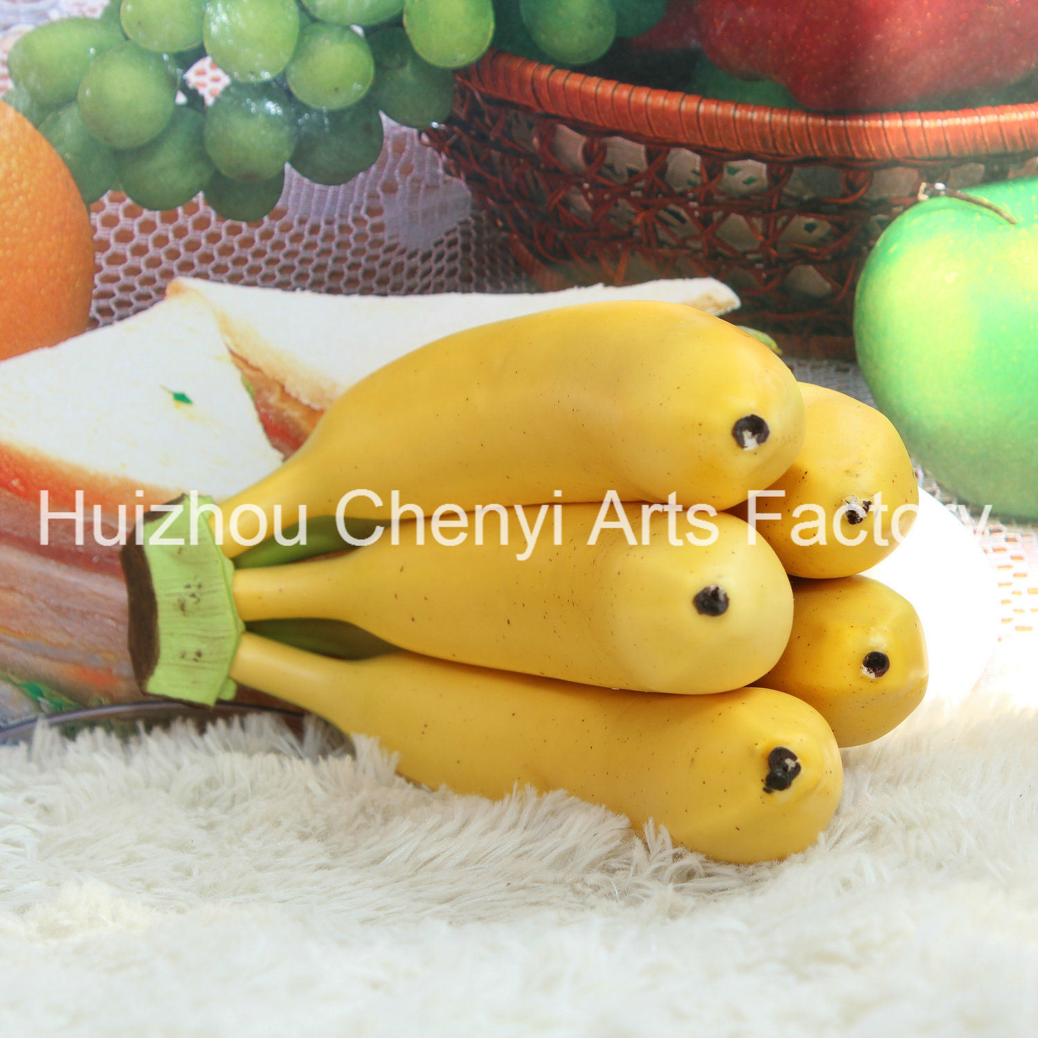 Very Nice 5 Head Banana Artificial Fruit