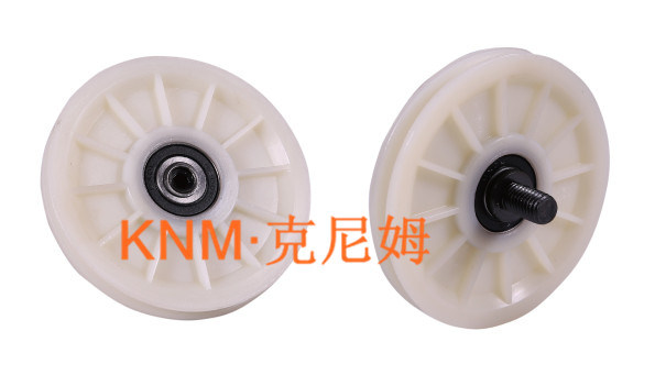Elevator Part Diameter 90 Nylon Rope Pulley Kc004