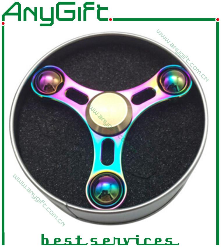 2017 Trending Gift Hand Spinner Finger Spinner with Gift Box/ Fidget Spinner Toy-AG Spinner- B04