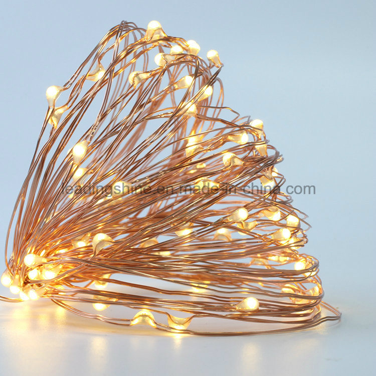 50 Warm White Solar Christmas Lights String for Wedding Halloween Patio Party Decorations Light