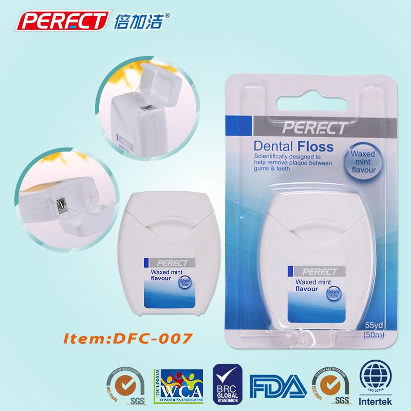 PERFECT 50m/55yds Dental Floss OEM Manufacturer
